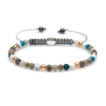 Spiral Bright Blue xxs (grey crystal)