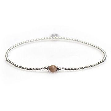 XS Balistyle Bracelet Silver Moonstone