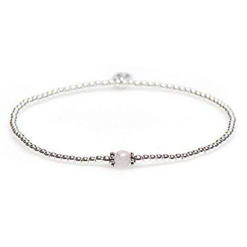 XS Balistyle Bracelet Silver Pink Quartz