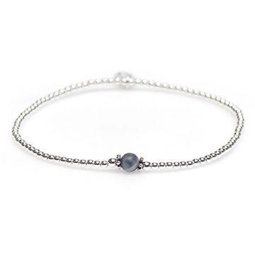 XS Balistyle Bracelet Silver Sodalite Blue