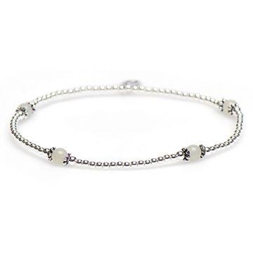XS Balistyle Bracelet Silver Amazoniet Green