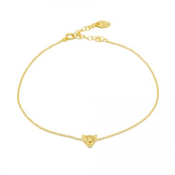Anklet Leopard Goldplated