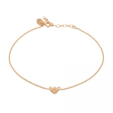 Anklet Bee Roseplated