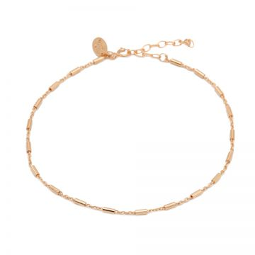 Anklet Tube Roseplated