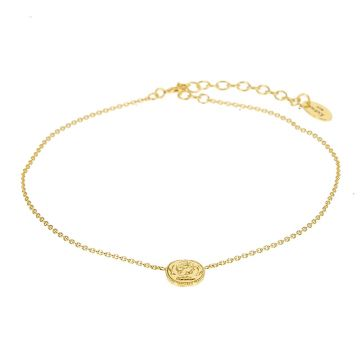Anklet Coin Goldplated