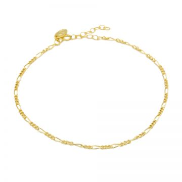 Anklet Figaro Goldplated