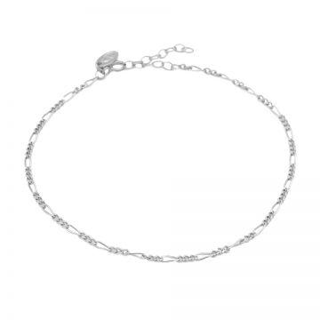 Anklet Figaro Silver