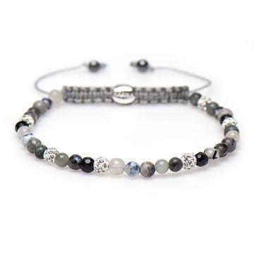 Spiral Freesia xxs (white crystal)