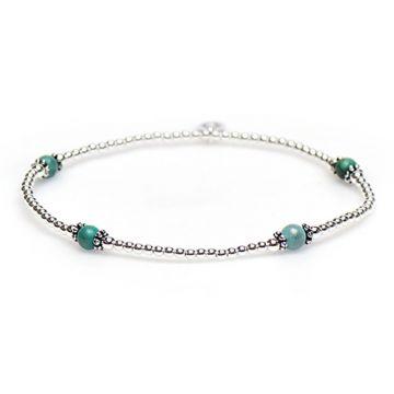 XS Balistyle Bracelet Silver Blue Turquoise