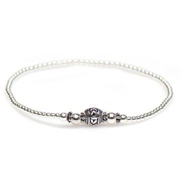 XS Balistyle Bracelet Silver Logo Bead