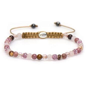 Spiral Pink Rose xxs (pink crystal)