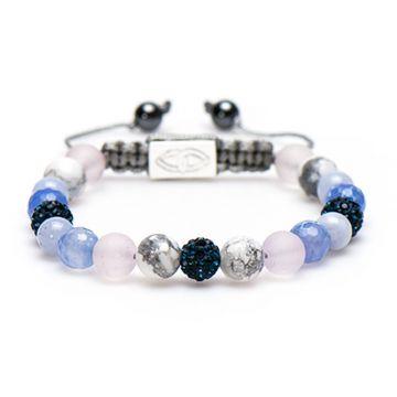 Spiral Blue Beach M (blue crystal)