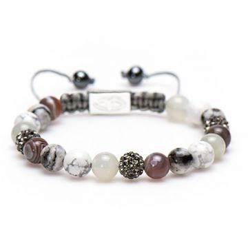 Spiral Gorgeous Grey M (grey crystal)