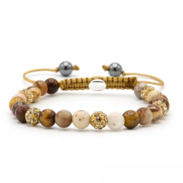 Spiral Sunny Gold XS (Gold crystal)