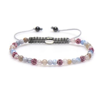 Spiral Peaceful Pink xxs (pink crystal)