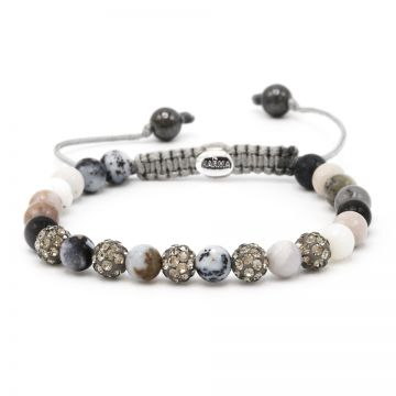Spiral Multi Grey XS (grey crystal)