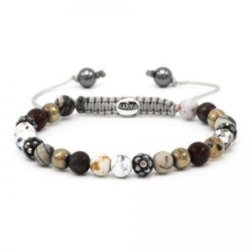 Spiral Romance XS (grey crystal)
