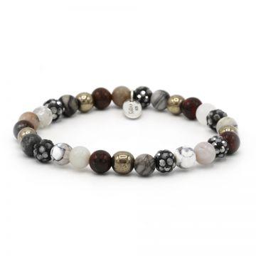 Spiral Romance XS elastic (grey crystal)