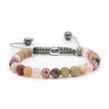 Spiral Pink Earth XS (pink crystal)