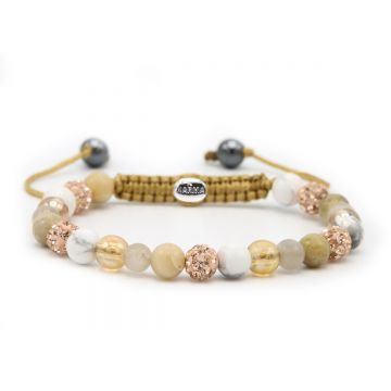 Spiral Touch of Gold XS (rose crystal)
