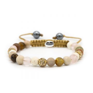 Spiral Simply Brown XS (gold crystal)