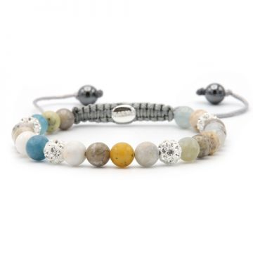 Spiral Pastel Love XS (white crystal)