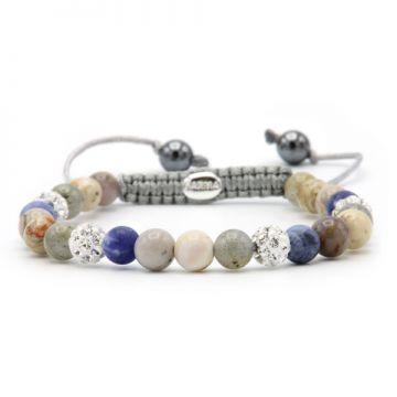 Spiral Beach House XS (white crystal)