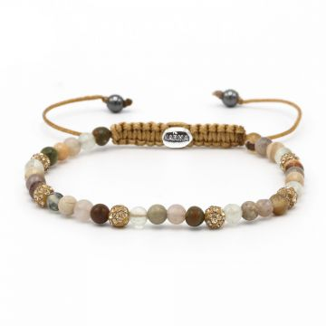 Spiral Glaze xxs (gold crystal)