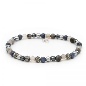 Spiral Fine Fiction xxs elastic (grey crystal)