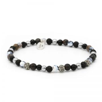 Spiral Full Moon xxs elastic (grey crystal)
