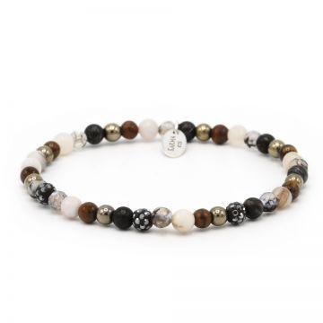 Spiral Romance xxs elastic (grey crystal)