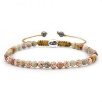 Spiral Pink Gold XXS (rose crystal)
