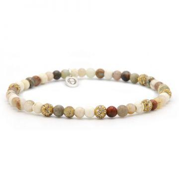 Spiral Pastels xxs elastic (gold crystal)