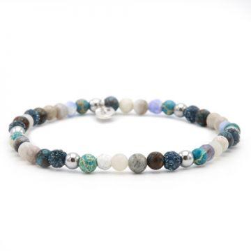 Spiral Beach and Blues xxs elastic (blue crystal)