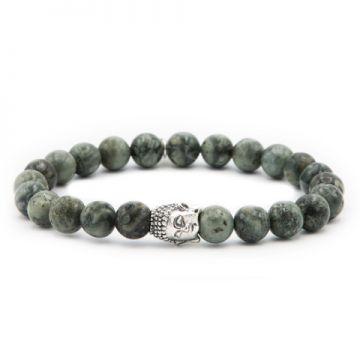 Universal Green Silver Buddha