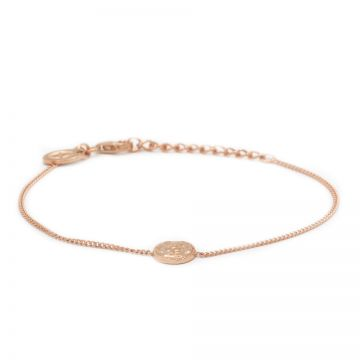 Bracelet Coin Roseplated
