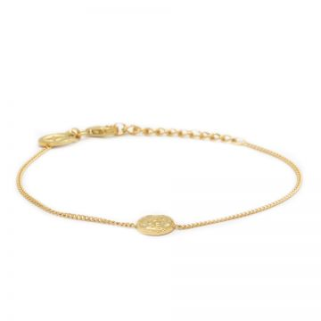 Bracelet Coin Goldplated