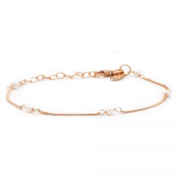 Bracelet Pearl Roseplated