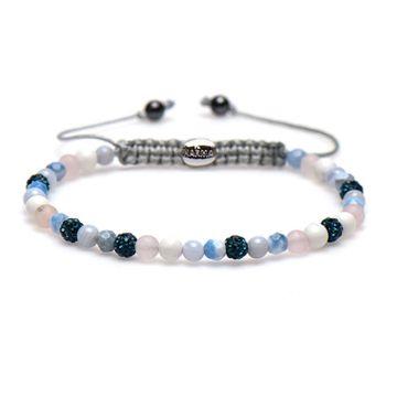 Spiral Blue Beach xxs (blue crystal)