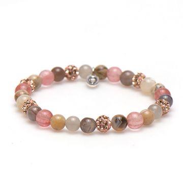 Spiral Soft Shape xs elastic (rose crystal)