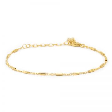Bracelet Tubes Goldplated