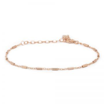 Bracelet Tubes Roseplated
