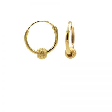 Hoops Symbols Goldplated SAND