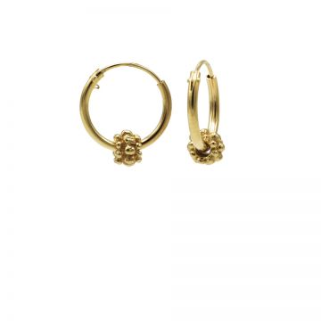 Hoops Symbols Goldplated