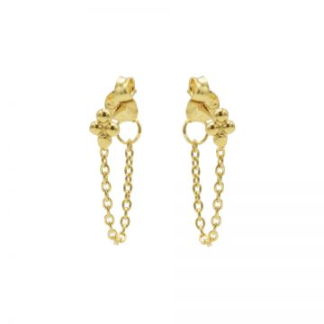Chain 4 Dots Goldplated