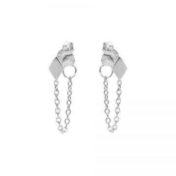 Chain Diamond Silver