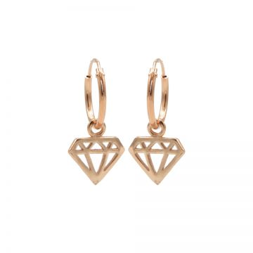 Hoops Symbols Diamond Roseplated