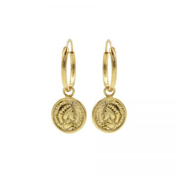 Hoops Symbols Coin 2 Goldplated