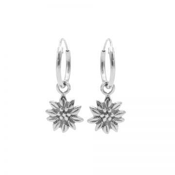 Hoops Symbols Sunflower Silver