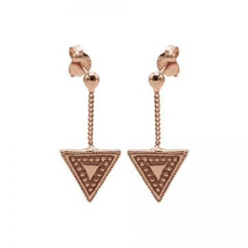 Chainstuds Dots Line Triangle Roseplated